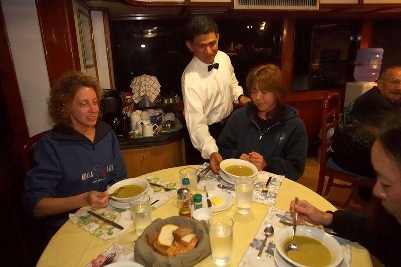 Dinner service (Galapagos - Deep Blue)