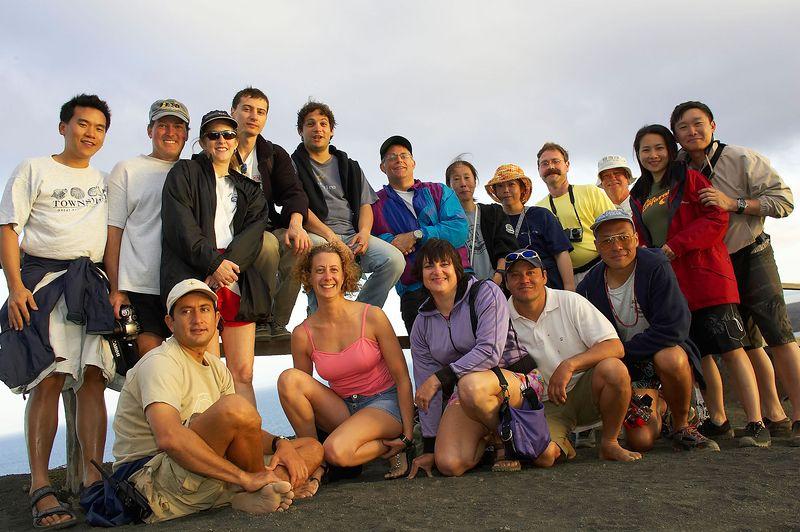 Group shot (Galapagos - Bartolome)