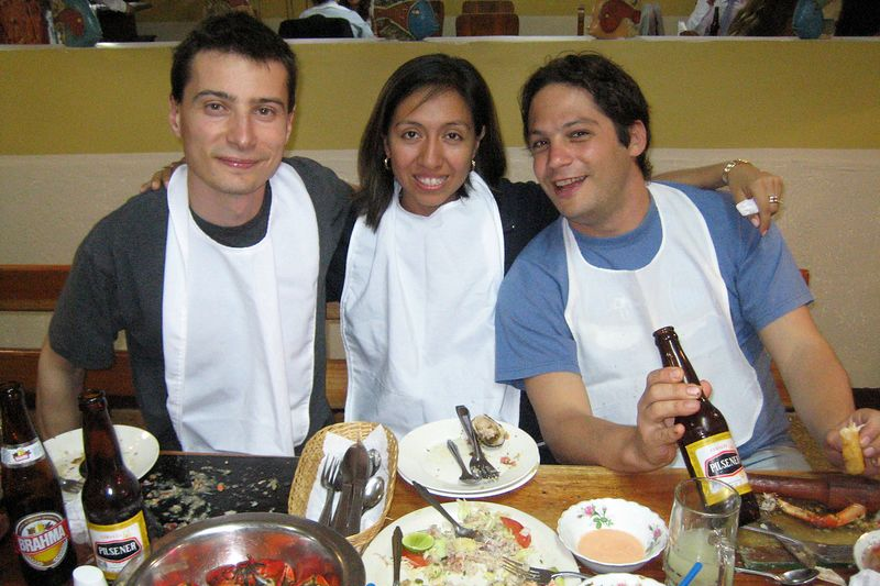 Emile, Alicia, and Alexis (Galapagos - Guayaquil)