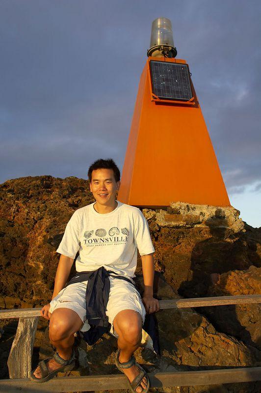 Me, at Bartolome (Galapagos - Bartolome)