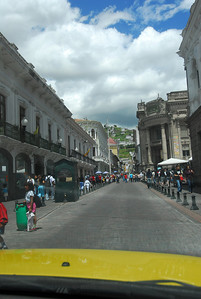 Driving deeper in Old Quito