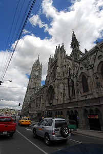 The Basilica del Voto Nacional