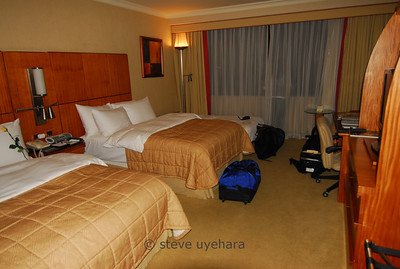 Our Swissotel Quito room is nice