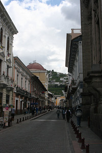 Quito street scene.
