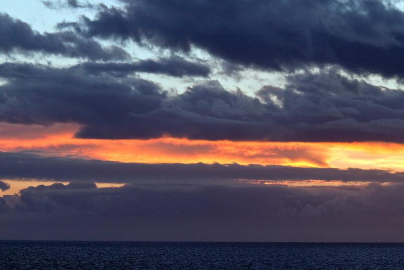 Sunset (Santiago Island)