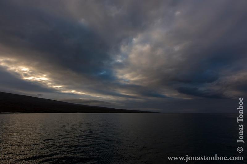 Sunrise over Elizabeth Bay