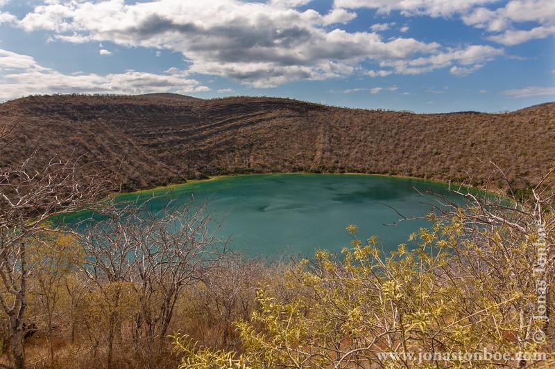 Darwin's Crater Lake