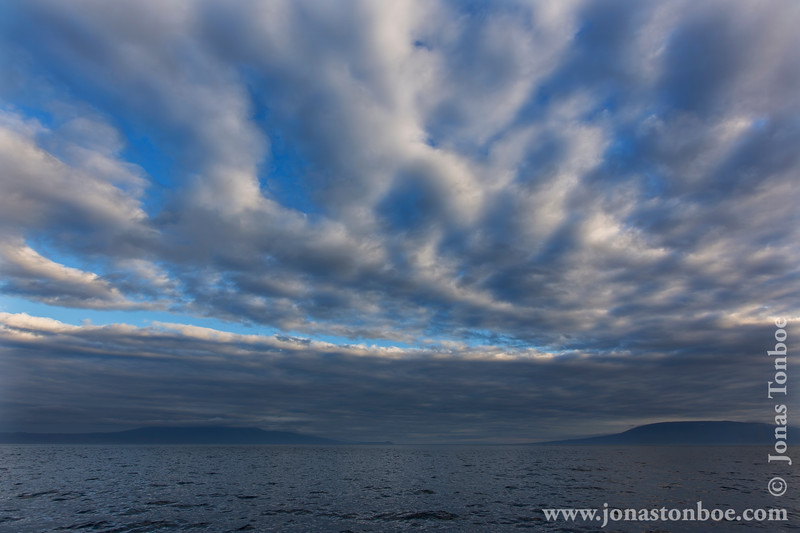 Evening Clouds at Vicente Poca Point