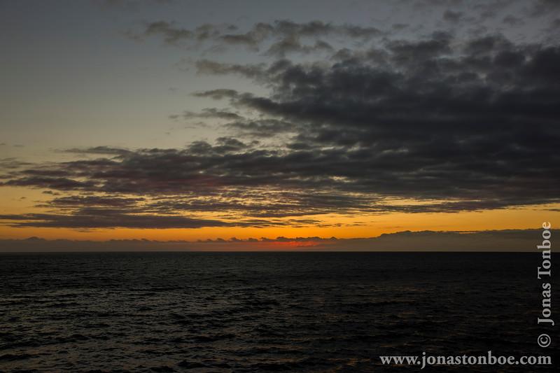 Sunset over Rabida Island