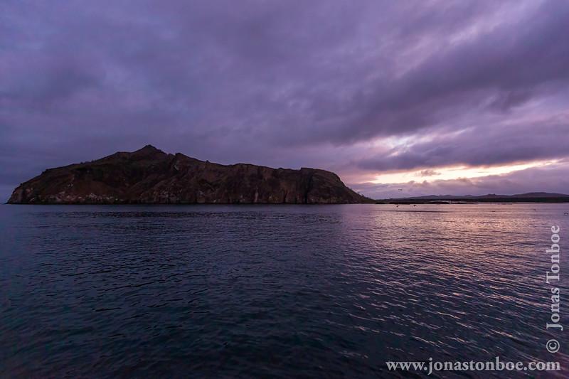 Sunrise over Cerro Brujo