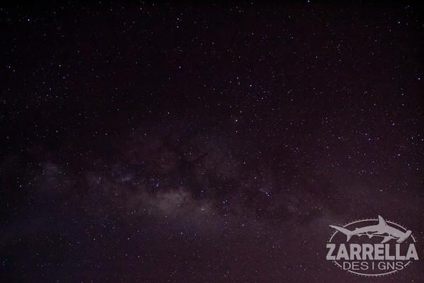"""""""Milky Way over Galapagos"""" (Santa Cruz, Galapagos)"""