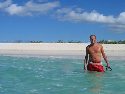 Bachas Beach, Galapagos Eilanden.