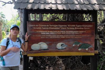 """""""Arnaldo Tupiza Chamaidan"""" Giant Tortoise Breeding Center - Isla Isabela, Galapagos."""