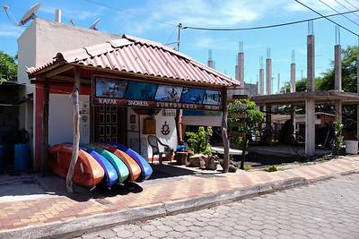 Little shop down the street from Hostal De Nelly.