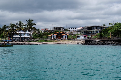 Isla San Cristobal - Galapagos. Shipwreck Bay (Bay of San Cristobal).