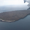We fly over our first destination, North Seymore Island