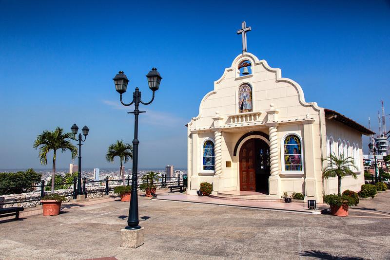 Santa Anna Chapel Guayacil
