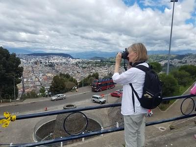 Melanie in Quito