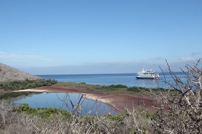 our ship - the Santa Cruz II