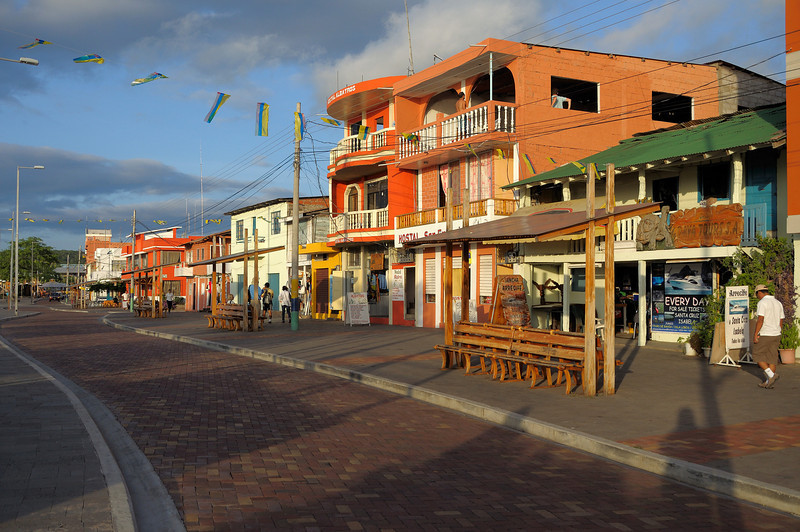 Puerto Baquerizo Moreno is a lovely little town.