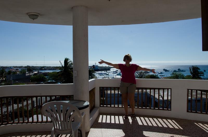 Balcony at Casa Iguana Mar y Sol