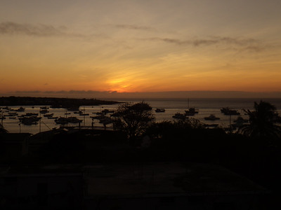Sunset view from Casa Iguana Mar Y Sol