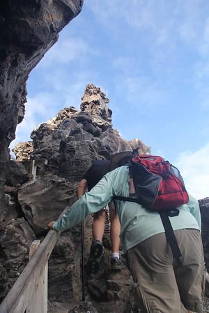 Prince Phillip's Steps on Genovesa Island