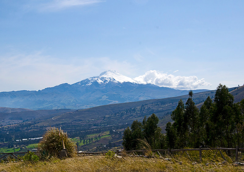 Cotopoxi Volcano- 19,347 feet. Ecuador in the Andes mountains.