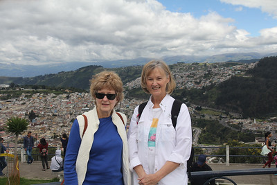 Mary Ann & Melanie in Quito, Equador
