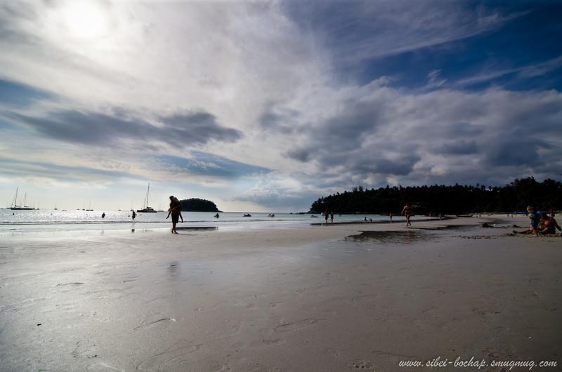 a day at kata beach
