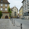 Cobble stone streets of Lindau. Walking on these is very hard on your feet and shoes.