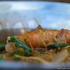 hot pot prawn with tang hoon - prawn overload