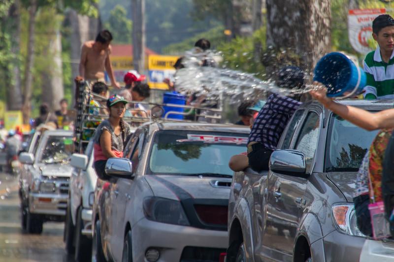 Songkran - Thai New Year (water festival)