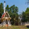 Buddhist crematorium