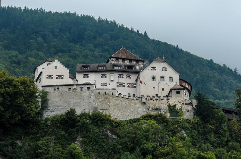 Vaduz Castle in Lichtenstein where the family still lives. The castle was built in the 16th century.
