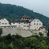 Vaduz Castle in Lichtenstein where the family still lives. The castle was built in the 16th century.