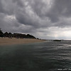 beach cleared n braced for storm