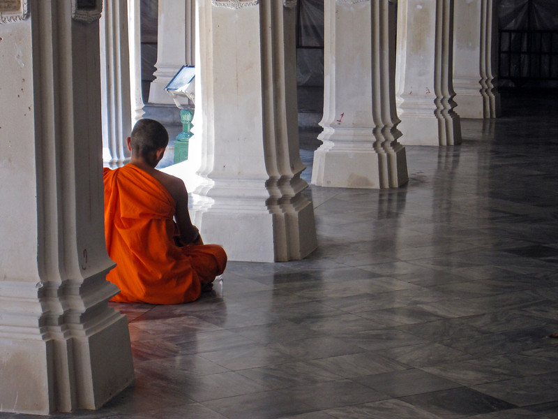 Monk at the Grand Palace