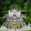 "Linderhof Palace. Built by King Ludwig II (""Mad King Ludwig"") of Bavaria between 1863 and 1886.<br /> <br /> picture taken July 14, 2009"