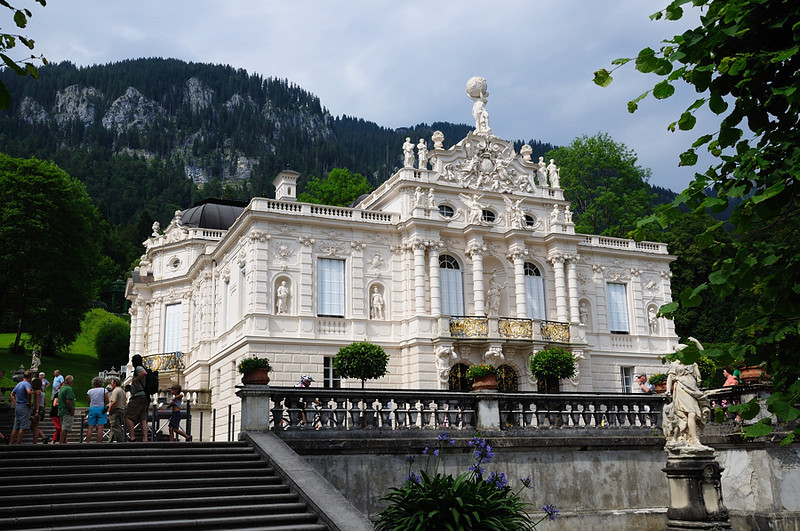 "Linderhof. Photos of the interior can be seen at the Linderhof web page: <a href=""http://www.linderhof.de/"">http://www.linderhof.de/</a><br /> <br /> picture taken July 14, 2009"