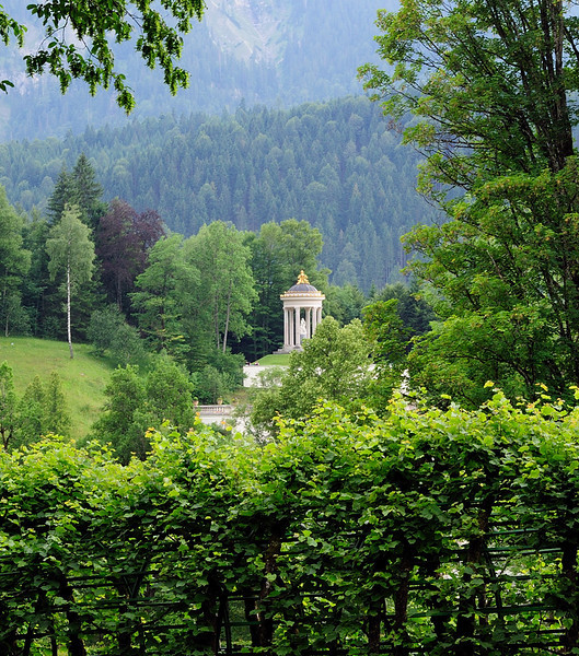 Temple of Venus at Linderhof.<br /> <br /> picture taken July 14, 2009