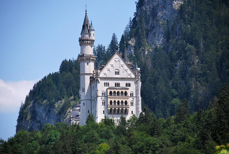 Neuschwanstein castle<br /> <br /> picture taken July 14, 2009