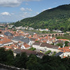Another view of Heidelberg looking down the Neckar River.<br /> <br /> (picture taken July 11, 2009)