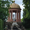 Another scene at Schwetzingen Gardens - the Apollo Temple above a grotto.<br /> <br /> (picture taken July 11, 2009)