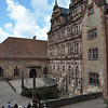 Our group listens to a presentation by our guide in Heidelberg Castle.<br /> <br /> (picture taken July 11, 2009)