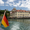 Departing from Meersburg on Bodensee for Mainau Island.<br /> <br /> picture taken July 13, 2009