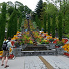 Floral cascade in the gardens on Mainau Island.<br /> <br /> picture taken July 13, 2009