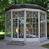 "Gazebo in Hellbrunn Palace garden in which Julie Andrews sang ""I am sixteen going on seventeen"" in The Sound of Music.<br /> <br /> picture taken July 17, 2009"