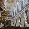 Peterskirche, Munich. View toward the rear.<br /> <br /> (picture taken July 16, 2009)