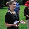 Carolin Allenstein, our guide at Woerlitz Gardens, near Dessau.<br /> <br /> picture taken July 19, 2009